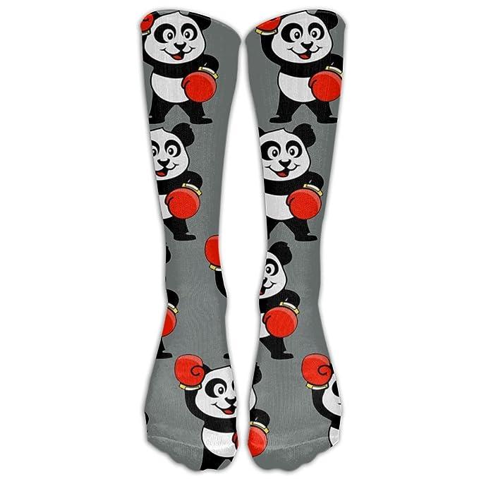 amazon com boxing pandas comfort cool vent crew socks one size