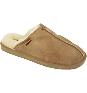 Shepherd Slippers Luxury Sheepskin LIV Style Slipper 100  Genuine Leather   RRZ4MEZWT