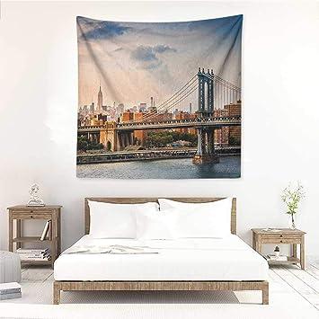 Amazon.com: Willsd New York Wall Tapestry for Bedroom ...