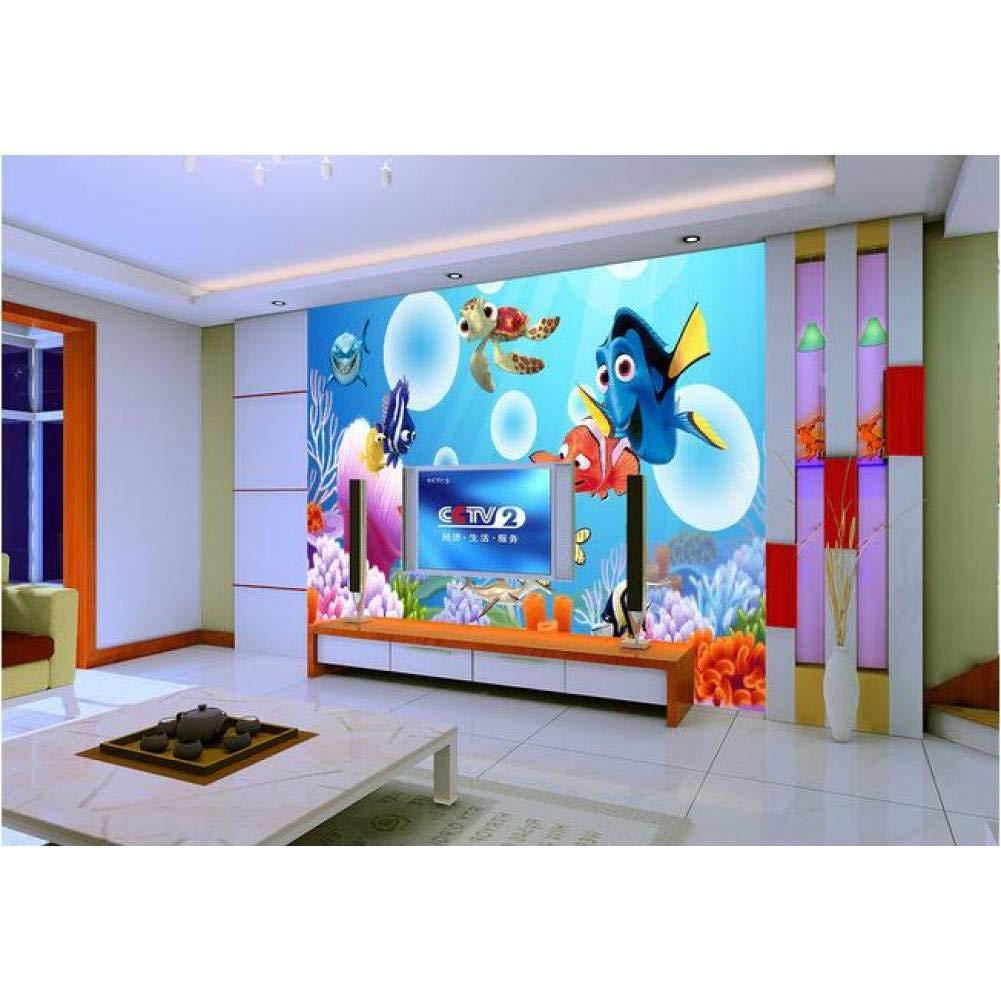 Esperando por ti 250x175cm YYBHTM Papel Tapiz 3D Personalizado Mural No Tejido Papel Papel Papel Tapiz 3D Habitación Papel Tapiz del Océano 3D Encontrar TV Ajuste De Parojo Parojo Mural 3D Papel Tapiz  los clientes primero