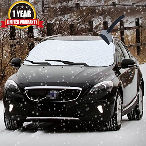 Car Snow Cover Car Smart Cover Windshield Cover...