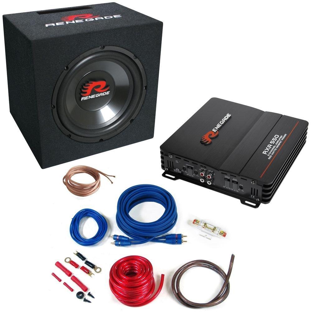 Renegade RBK550XL De 2 ví as altavoz audio - Altavoces para coche (De 2 ví as, 550 W)