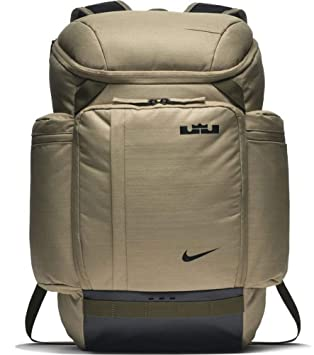 1e5081651a184 NIKE Lebron James LBJ Backpack BA5563-209 Neutral Olive/Olive Canvas ...