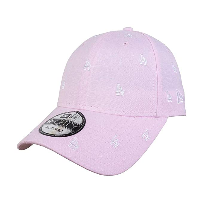 New Era MLB Gorra, Hombre, Rosa/Blanco, Talla Única: Amazon.es ...