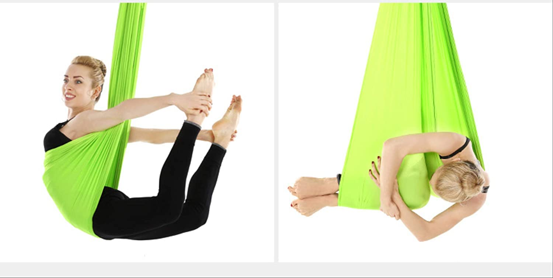 HPZN Hamaca Stilts De Hamaca De Yoga Aéreo Hogar Elástico ...