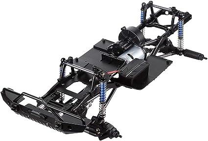 1 Pair 1//10 Scale RC Car Part SCX10 90046 Main Frame Black
