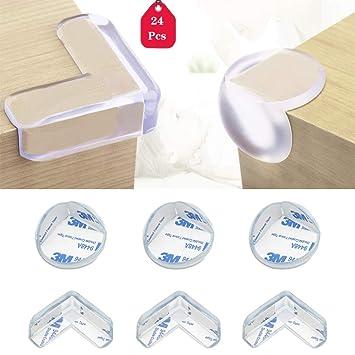 und M Premium Eckenschutz und Kantenschutz transparent Kunststoff für Tisch