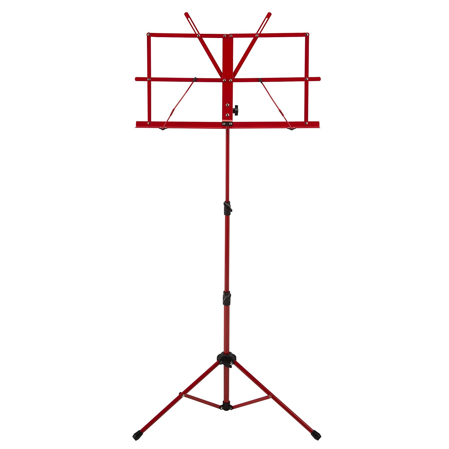 Ravel SSSRAVELGREEN Folding Music Stand, Green Cascio Interstate Music