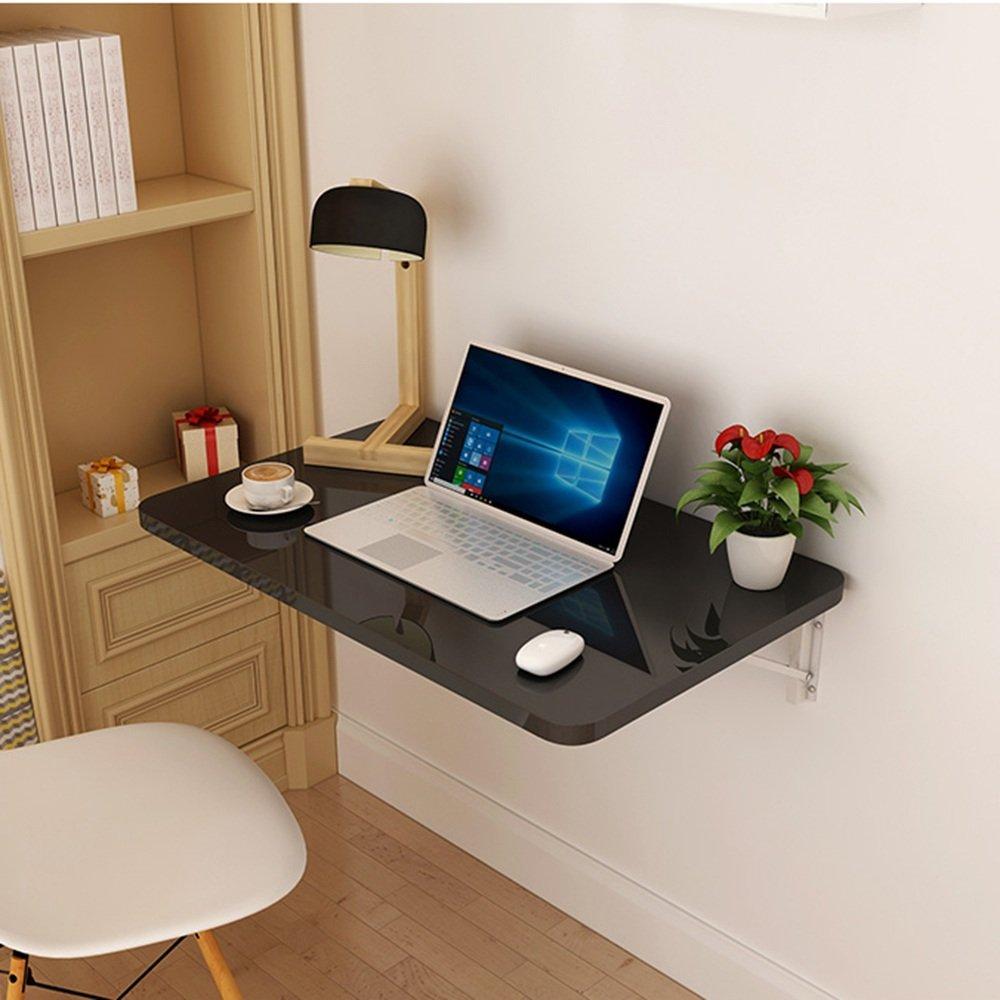 マチョン コンピュータデスク 折りたたみ式の壁掛け式デスク さまざまな色で利用可能 (色 : Black, サイズ さいず : 120cm*50cm) B07DZRR6Y7 120cm*50cm|Black Black 120cm*50cm