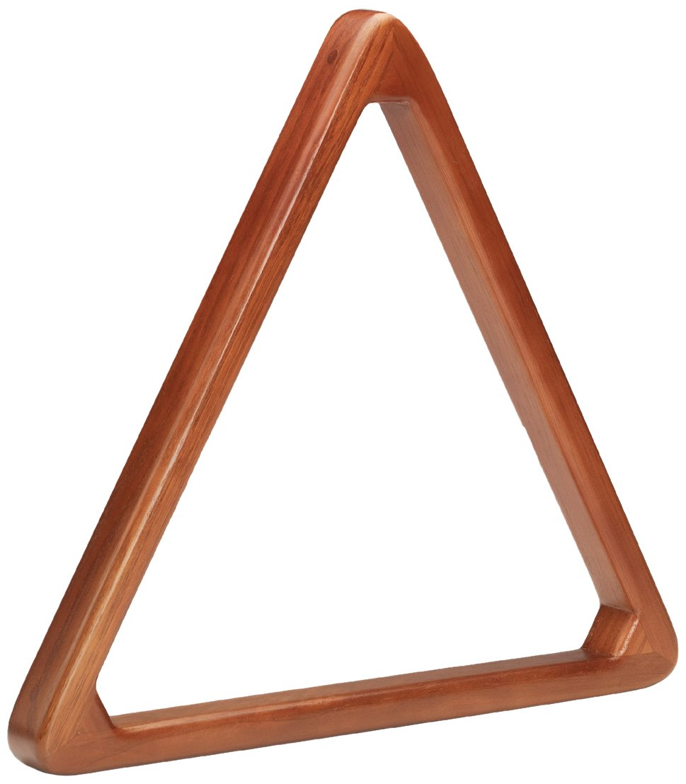 Pro Series TR8HD Heavy Duty Wooden Billiard Ball 8-Ball Triangle Racks Cherry TR8HD-C