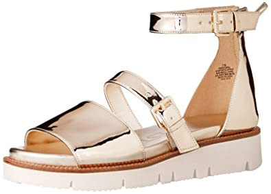 ca8d58a529248 Nine West Women's Satoria Synthetic Flat Sandal