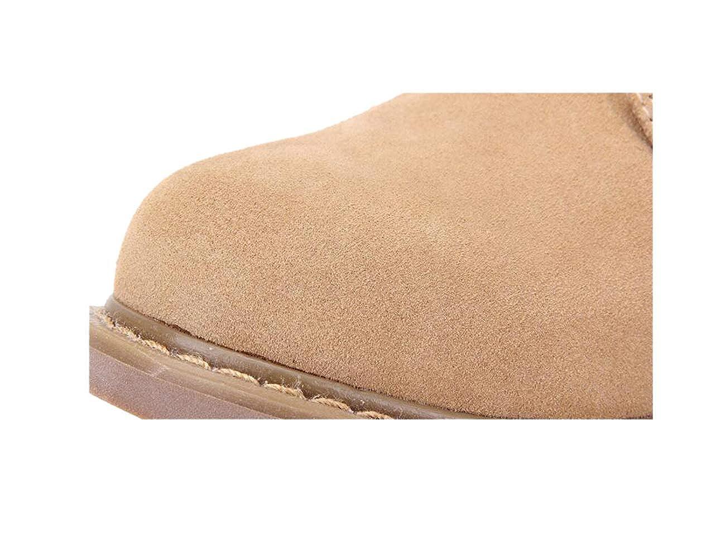 zmlsc Men's Shoes, England Low Cut Suede Shoes, Outdoor