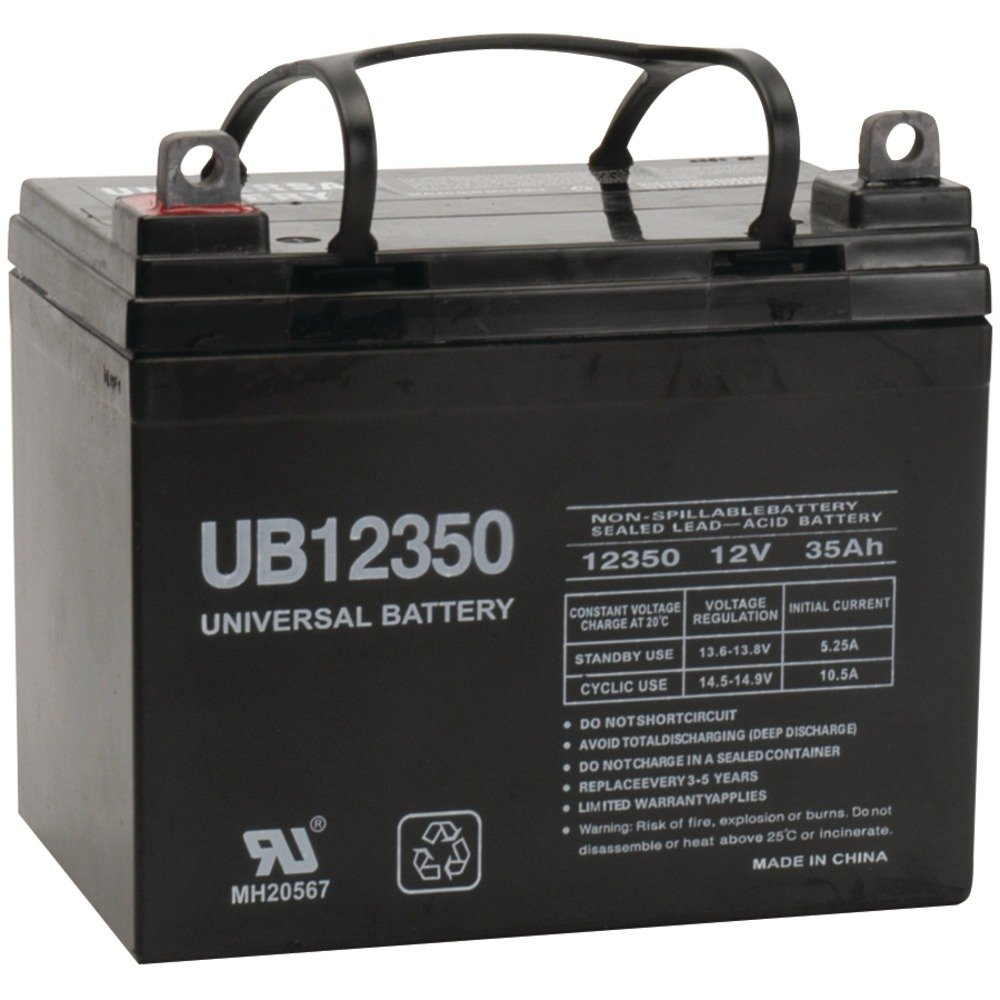 Best RV Battery: UPG 85980/D5722 Sealed Lead Acid Battery (12V; 35 AH; UB12350)