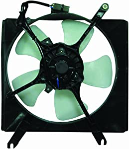 DEPO 323-55003-102 Replacement Engine Cooling Fan Assembly (This product is an aftermarket product. It is not created or sold by the OE car company)