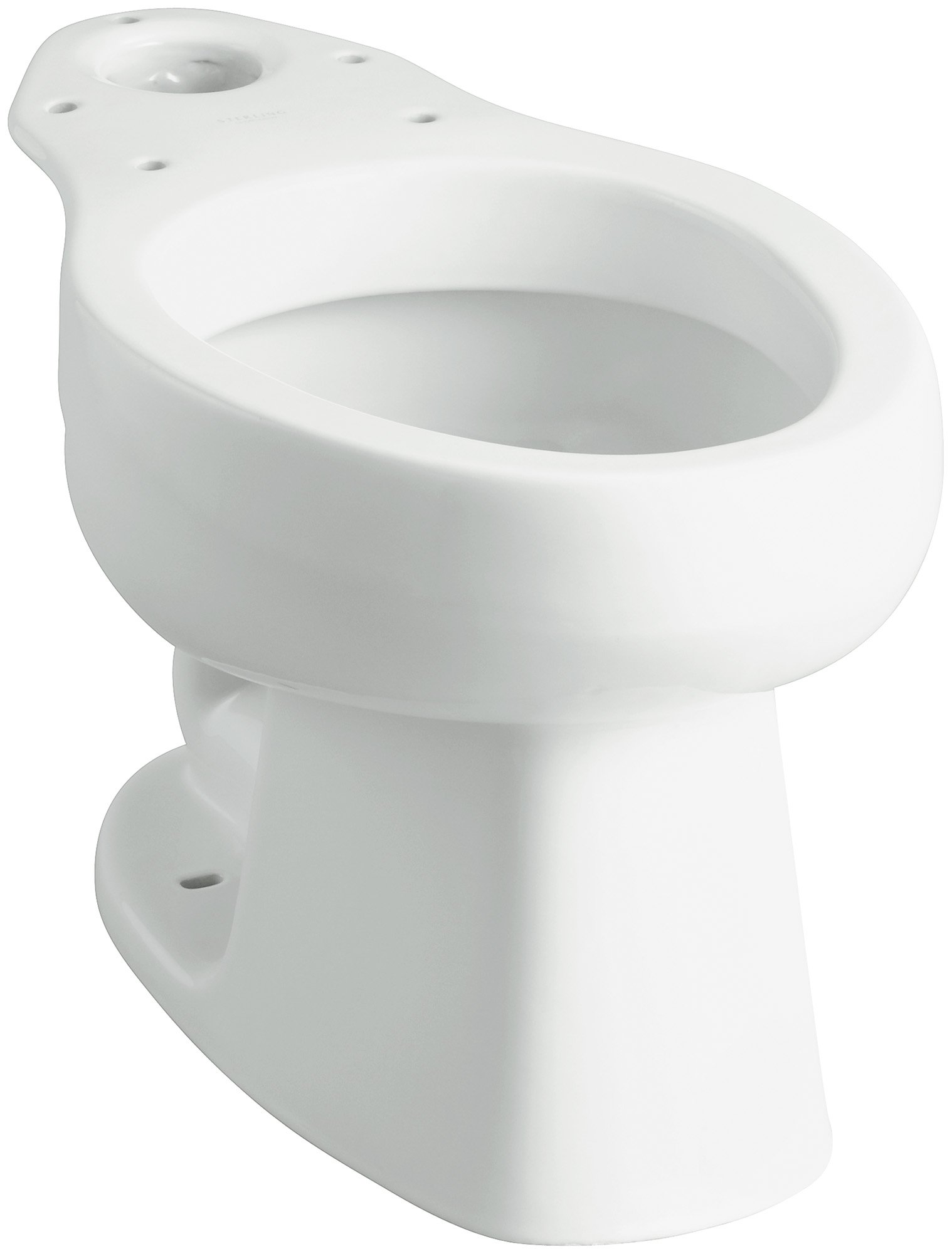 STERLING 403215-0 Windham Elongated Toilet Bowl, White by STERLING, a KOHLER Company