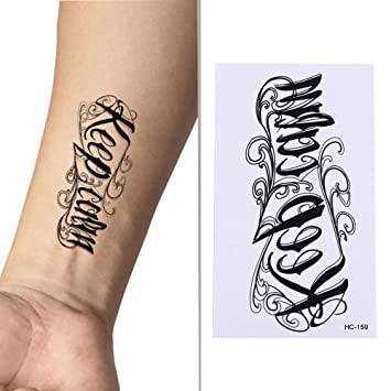 Generic Body Art Sex Products Waterproof Temporary Tattoos