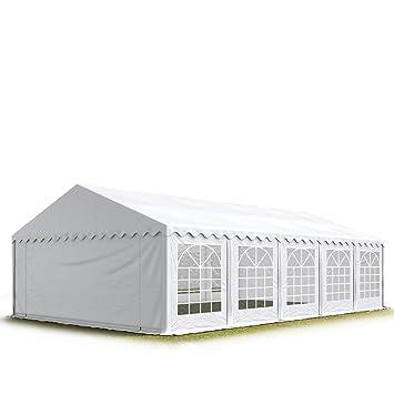 TOOLPORT 5x10 m Tente de réception/Barnum Blanc Toile de Haute ...