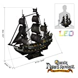 CubicFun 3D Pirate Ship Puzzle Sailboat Vessel