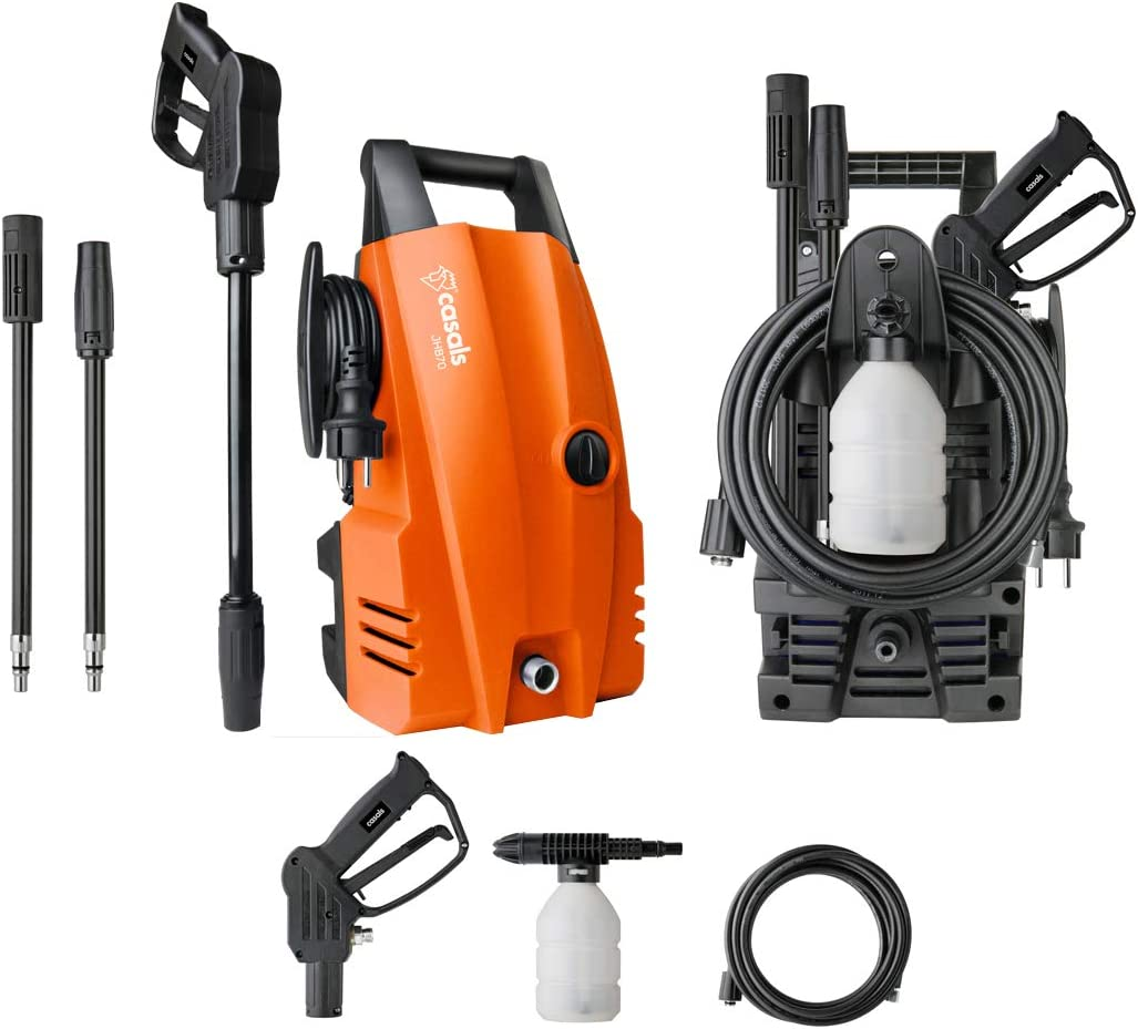 Casals JHB70 Hidrolimpiadora, 1400 W, Naranja: Amazon.es ...