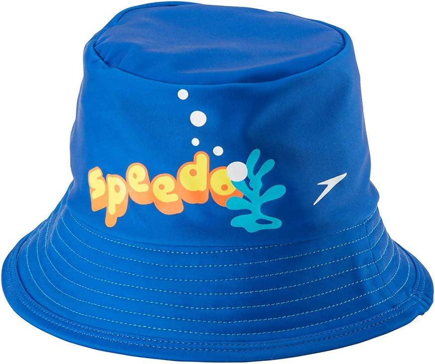 Speedo Unisex-Child Uv Bucket Hat Begin to Swim UPF 50