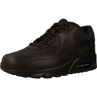 Nike Damen Air Max 90 Patent Schwarz Leder Sneaker 36 ...
