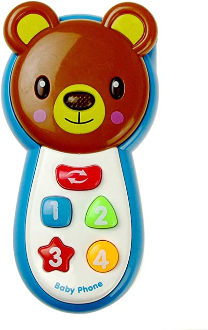 Baby Kids Musical Phone Toys Toddler Children Sound Learning Educational Toys UK