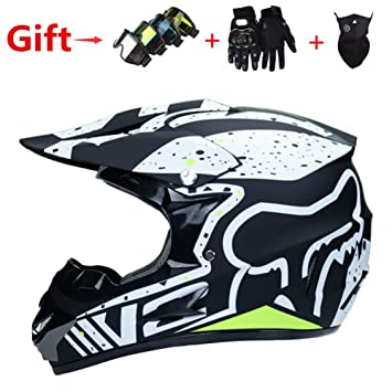 Amazon.es  FOX Downhill Todoterreno Casco De Moto 8c80e88b544