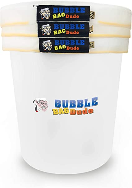 5-Gallon Bags 25 Bubble Magic Extraction Bags 73 3 220 Microns NEW