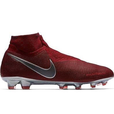 0d19df0ac Nike Men s Phantom Vision Elite FG (Team Red Metallic Dark Grey Bright  Crimson