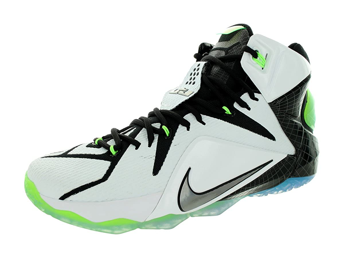 cheaper 5faef 4a1ba Amazon.com   Nike Lebron XII AS All Star Men s Shoes White Multi-Color-Black  742549-190   Basketball