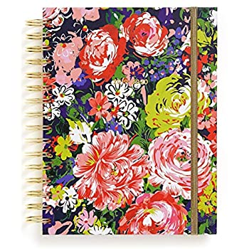 Amazon.com: Rifle Paper 2016 Birch Floral 17-Month Planner ...