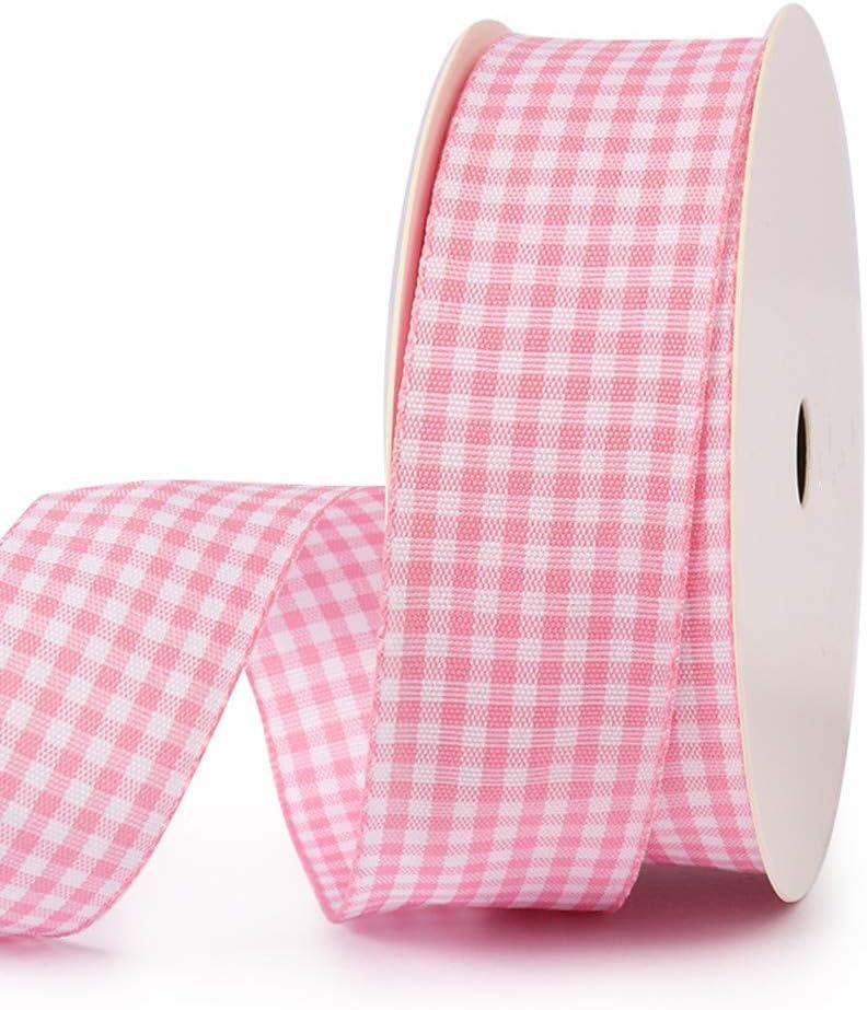 Swiss Tartan Plaid Taffeta Ribbon 3611J 1-38 35mm