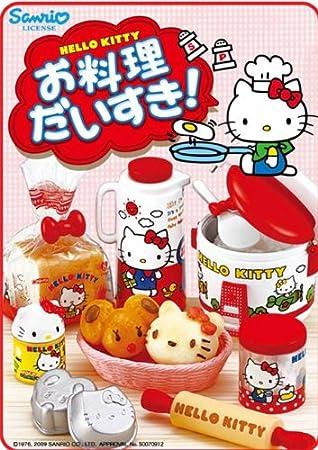 caja sorpresa me encanta cocinar hello kitty rement
