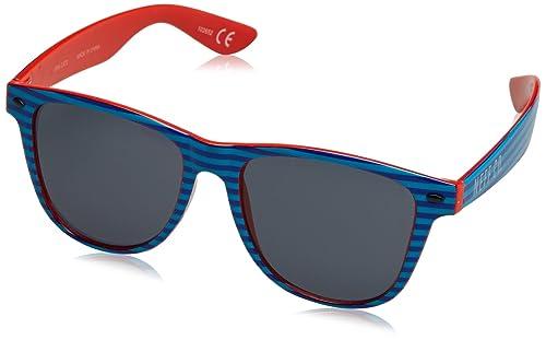 Neff QNF0302, Gafas de Sol Unisex, Basic Cyan, 55