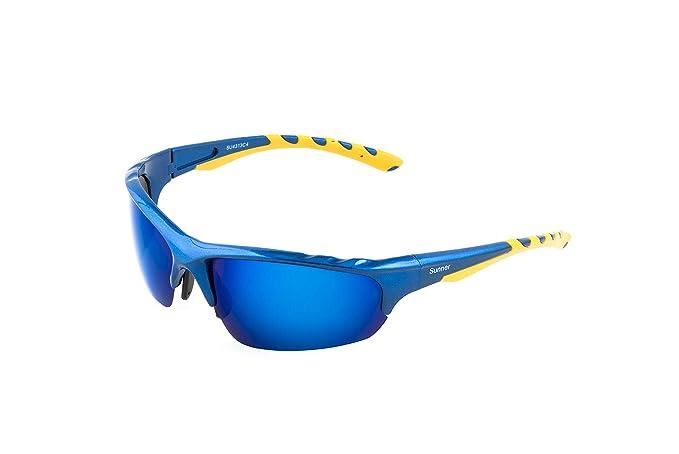 Sunner Gafas de Sol Deportivas Para Hombre y Mujer SUS4313 Protección UV400 Lentes Polarizadas Montura Ligera