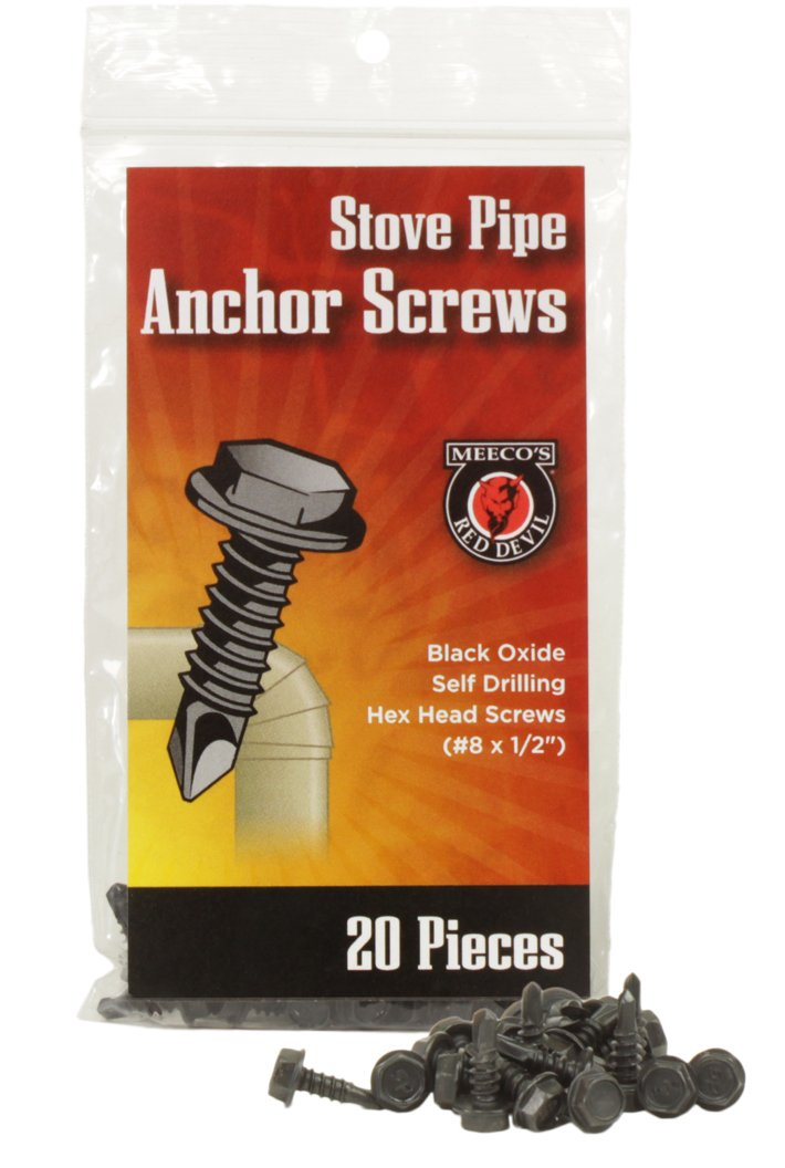 MEECO'S RED DEVIL 5020 Stovepipe Anchor Screws