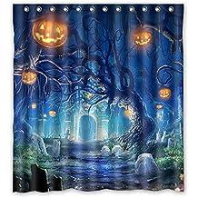 Halloween Shower Curtain Set