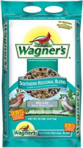 Wagner's 62012 Southern Regional Blend Wild Bird Food, 20-Pound Bag