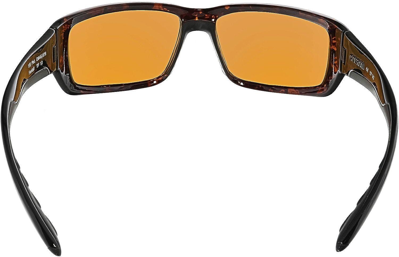 Direct TF65OBMP Costa Del Mar Fantail Sunglasses Mossy Oak Shadow Grass Blades Camo Blue Mirror 580 Plastic Lens Pro-Motion Distributing