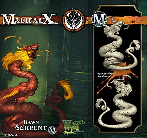 Malifaux Ten Thunders Dawn Serpent (1 plastic figure, M2E, WYR20705) by Wyrd Miniatures