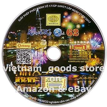Amazon com: Arirang Karaoke Midi Disc Vol 62 Serial A