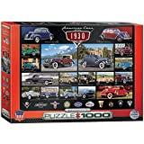 ford 1930 - EuroGraphics 1930's Cruisin' Classics Jigsaw Puzzle (1000-Piece)