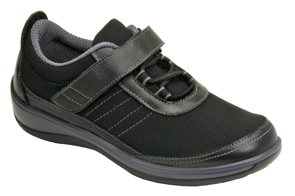 Orthofeet Breeze Comfort Stretchable Wide Orthopedic Diabetic Womens Walking Shoes 10 XW US
