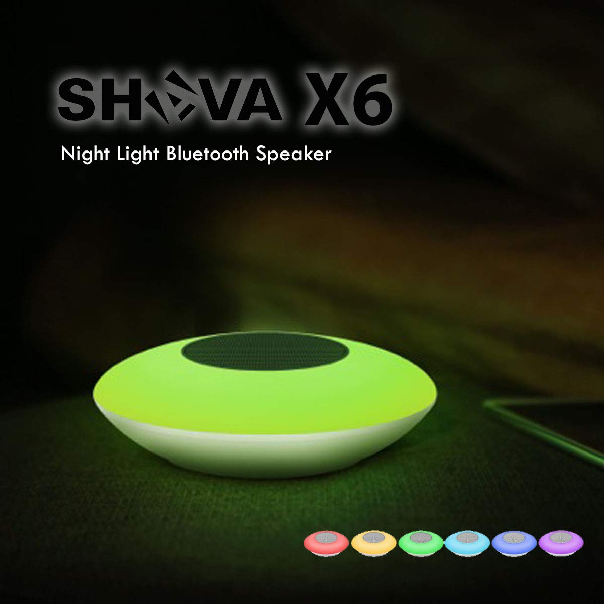 Best Night Light Bluetooth Speaker