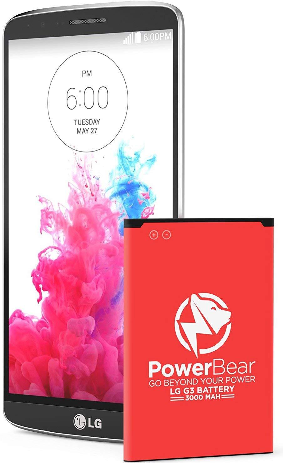Bateria Celular Powerbear Lg G3 3000 Mah Lithium Ion