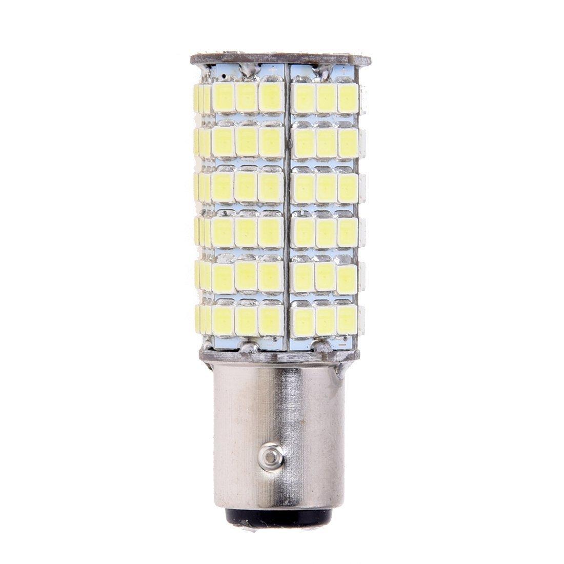 TOOGOO(R) LAMPADA LUCE STOP 120 LED SMD 1157 1016 P21/5W BIANCO 021773