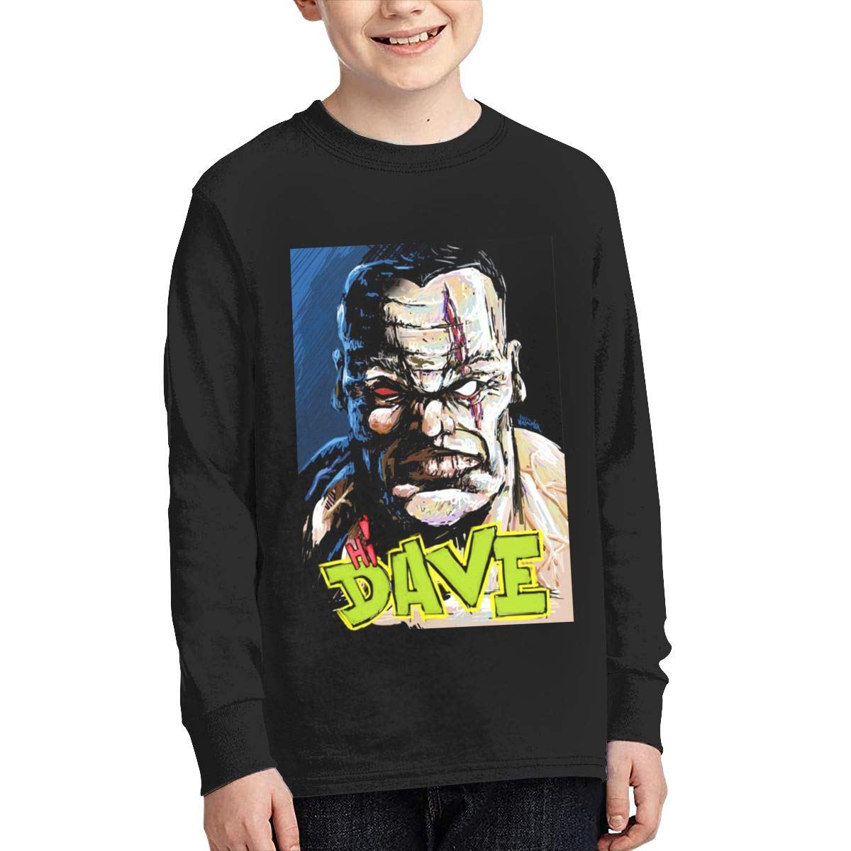 TWOSKILL Youth Cool-Dave Long Sleeves Shirt Boys Girls