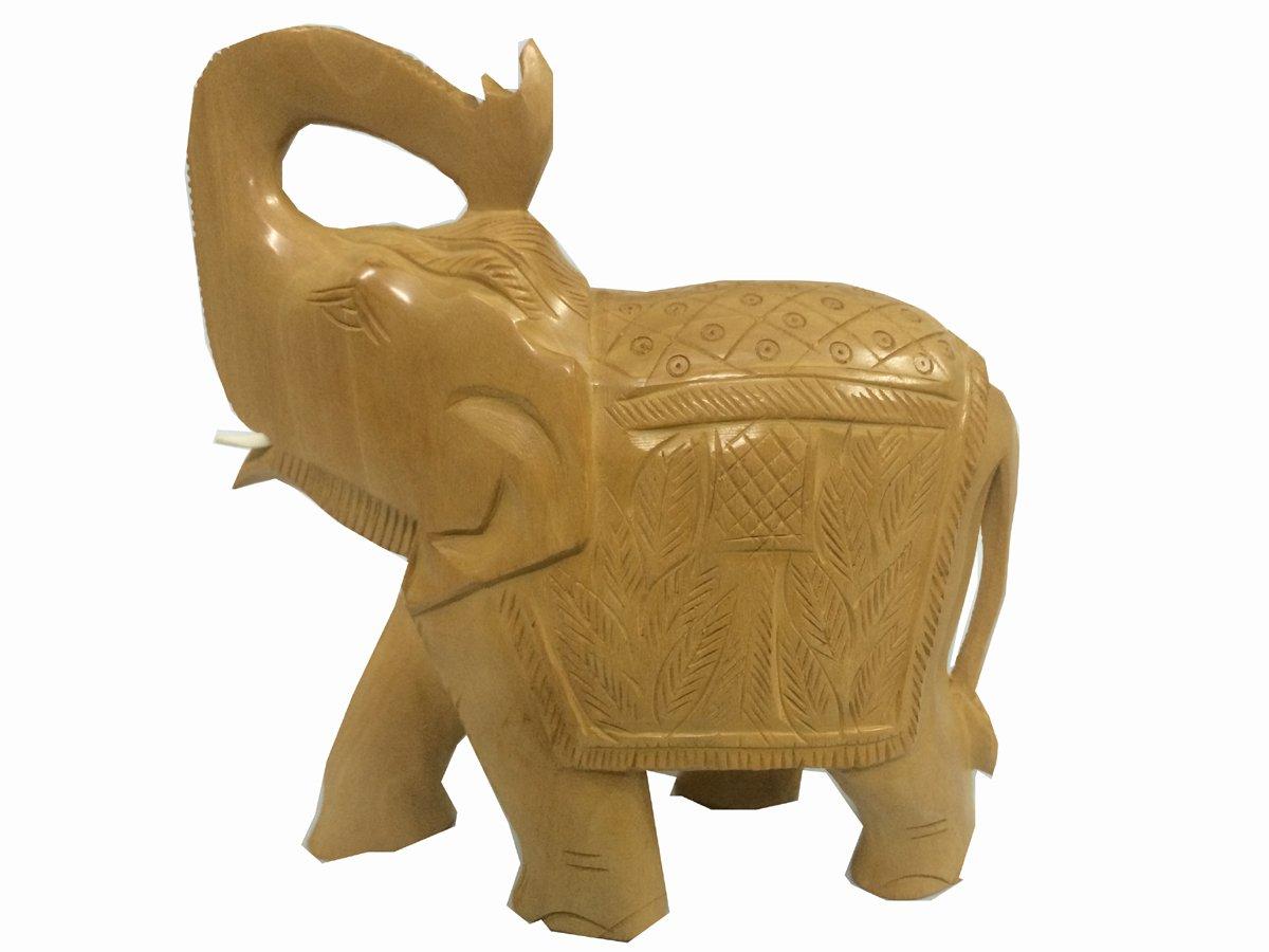 Amazon.com: Denika Handicrafts Indian Handicrafts white wood ...