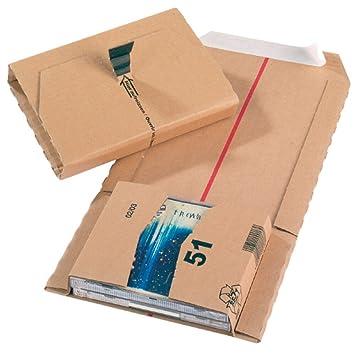 Jiffy - Cartón para embalar (CD), tamaño 51, 147 x 126 x 55 ...