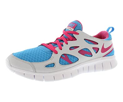 sports shoes 4c176 8679c Nike Free Run 2 Running Shoes Youth Size 7y (Womens 8) Blue Pink